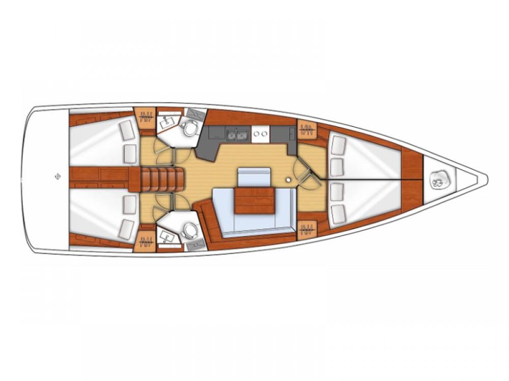 Jachthuur in  - Bénéteau Oceanis 45 V via SamBoat