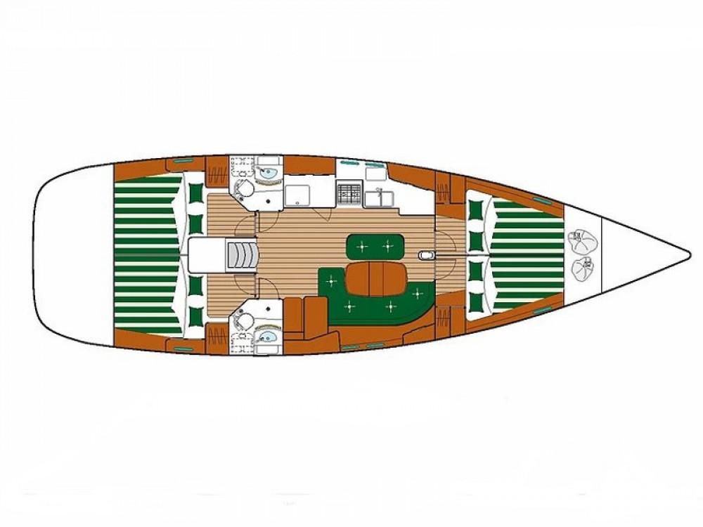 Bootverhuur Sukošan goedkoop Oceanis 473
