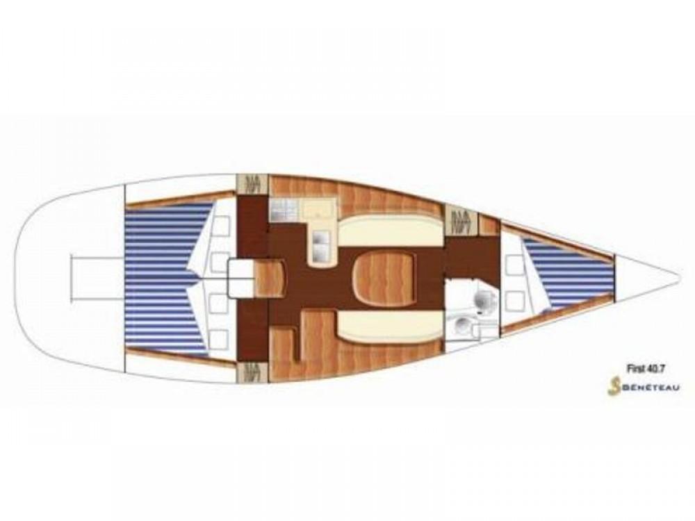 Bootverhuur Bénéteau First 40.7 in Primošten via SamBoat