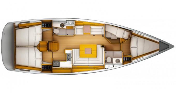 Verhuur Zeilboot in Follonica - Jeanneau Sun Odyssey 449