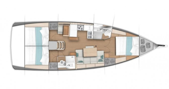 Bootverhuur Jeanneau Sun Odyssey 440 in Follonica via SamBoat