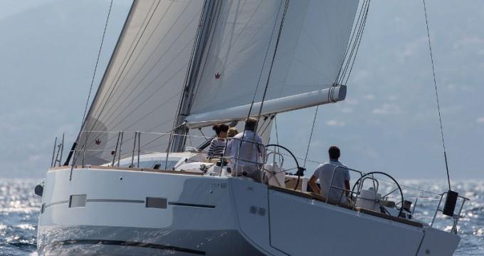 Verhuur Zeilboot in Níkiti - Dufour Dufour 460 Grand Large