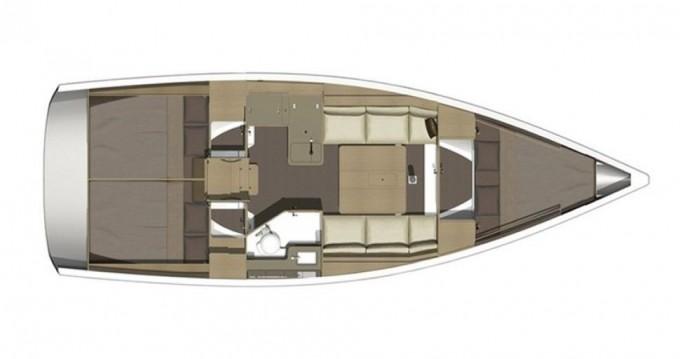 Verhuur Zeilboot in Níkiti - Dufour Dufour 350 Grand Large