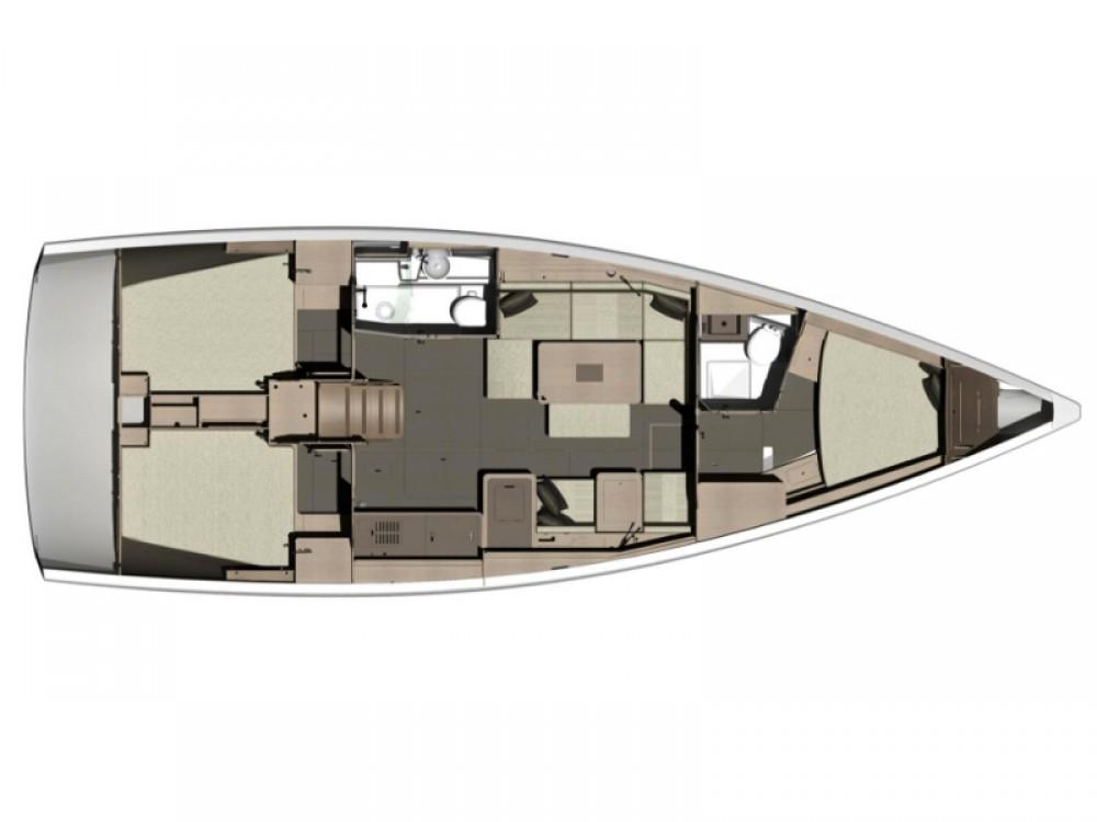 Jachthuur in  - Dufour Dufour 412 GL via SamBoat