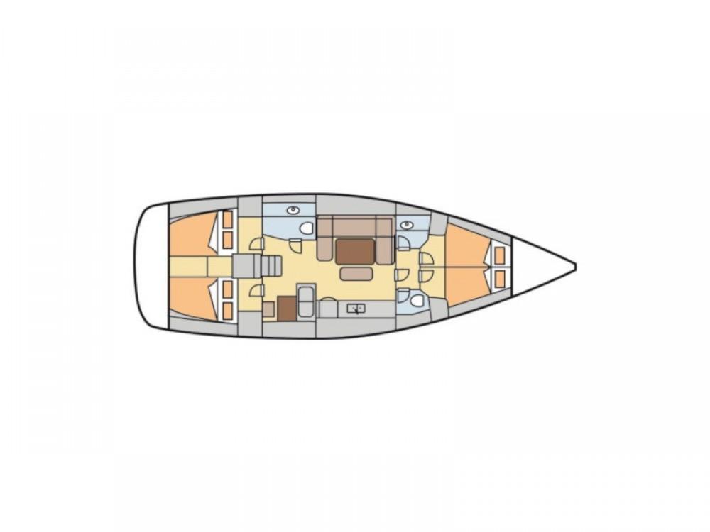 Jachthuur in Capo d'Orlando - Dufour Dufour 450 GL via SamBoat