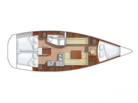 Huur Zeilboot met of zonder schipper Hanse in Lávrio