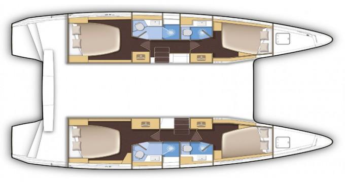 Huur Catamaran met of zonder schipper Lagoon in Lefkada (Island)
