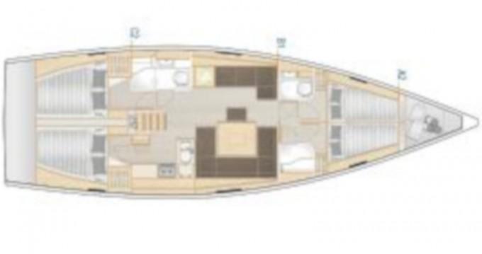 Jachthuur in Lávrio - Hanse Hanse 458 via SamBoat