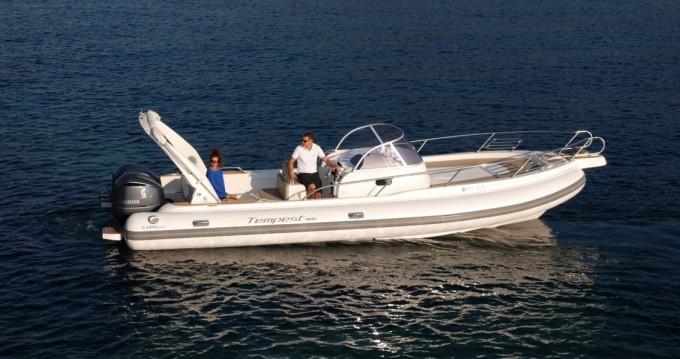 Verhuur Motorboot in Cannigione - Cantieri Tempest 900