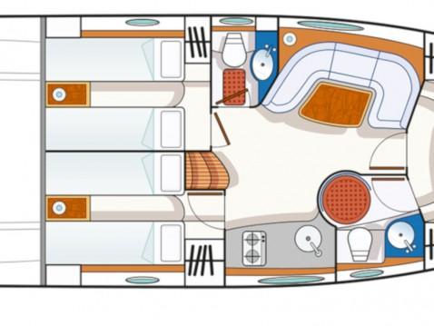 Huur Motorboot met of zonder schipper Blu in Cannigione