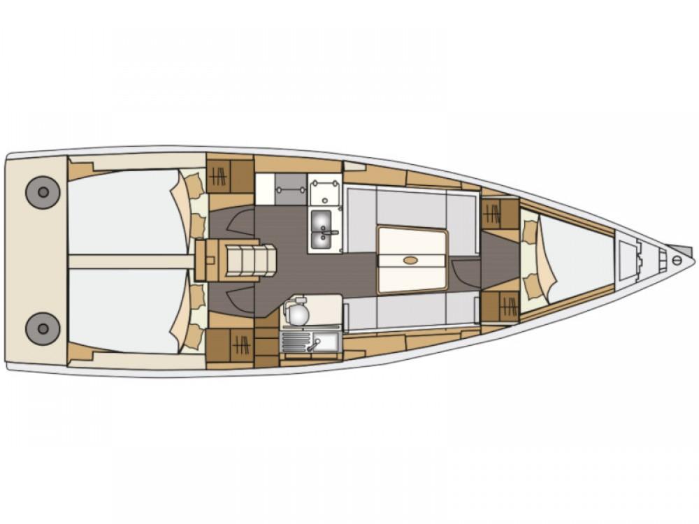 Verhuur Zeilboot in Marina Pirovac - Elan Elan E4