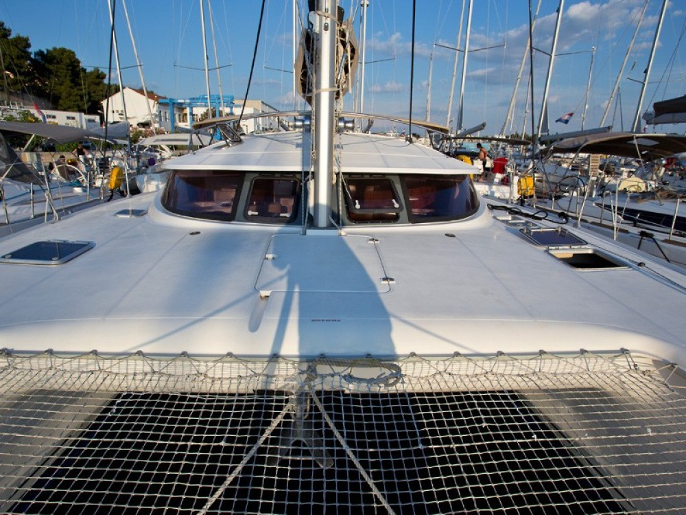 Verhuur Catamaran in Krk - Fountaine Pajot Athena 38 (4+2 cab)