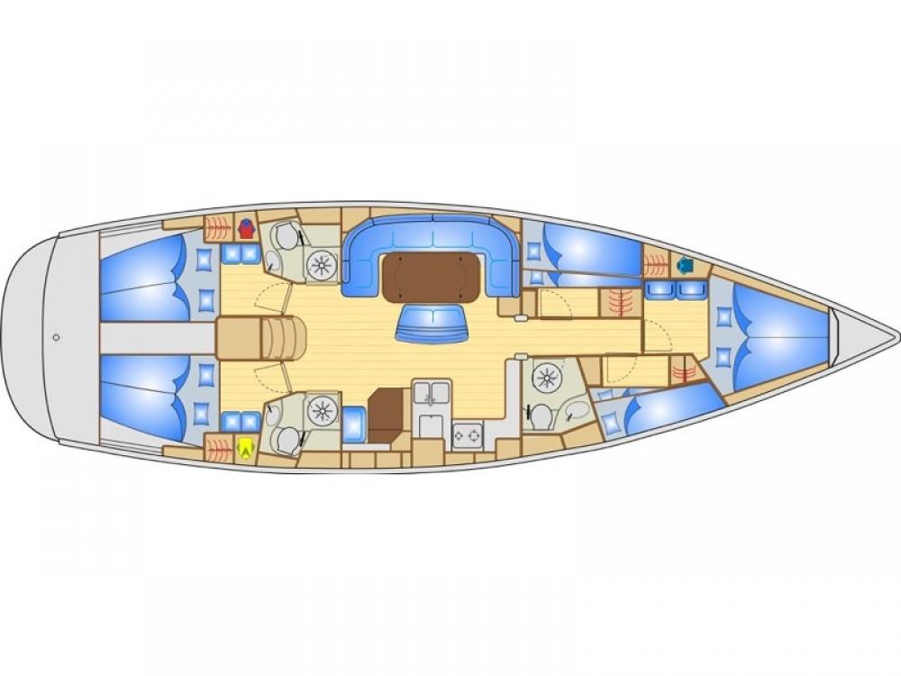 Verhuur Zeilboot in Krk - Bavaria Bavaria 50 Cruiser