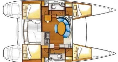 Bootverhuur Krk goedkoop Lagoon 380 S2 (4+2 cab)