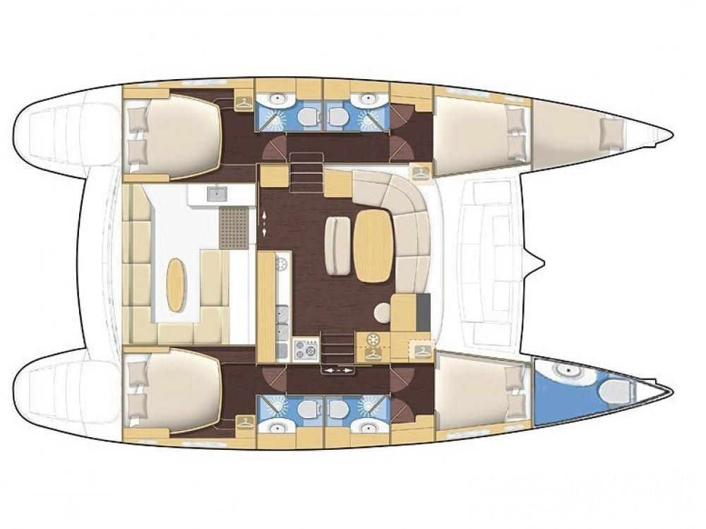 Bootverhuur Krk goedkoop Lagoon 440 (4+2 cab)