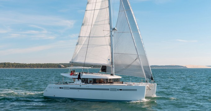Jachthuur in Split - Lagoon Lagoon 450 Sport Top via SamBoat