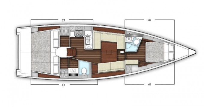 Jachthuur in Split - X-Yachts X-Yacht 4-3 via SamBoat