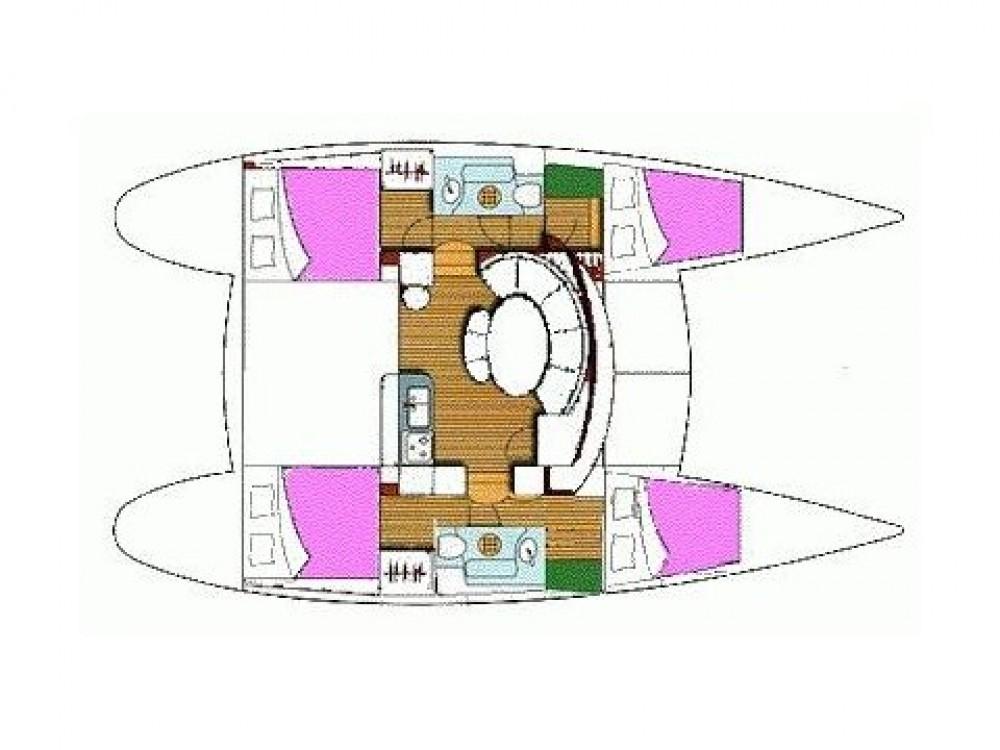 Bootverhuur  goedkoop Lagoon 380 S2