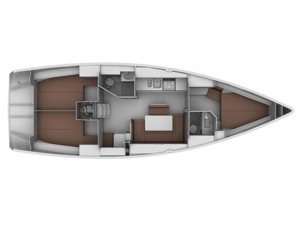Bootverhuur Leucade goedkoop Bavaria 40 Cruiser