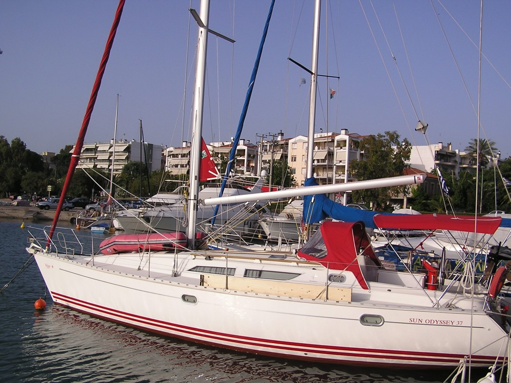 Bootverhuur Jeanneau Sun Odyssey 37.1 in  via SamBoat
