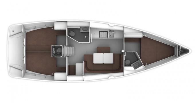 Verhuur Zeilboot in Lefkas Marina - Bavaria Cruiser 41
