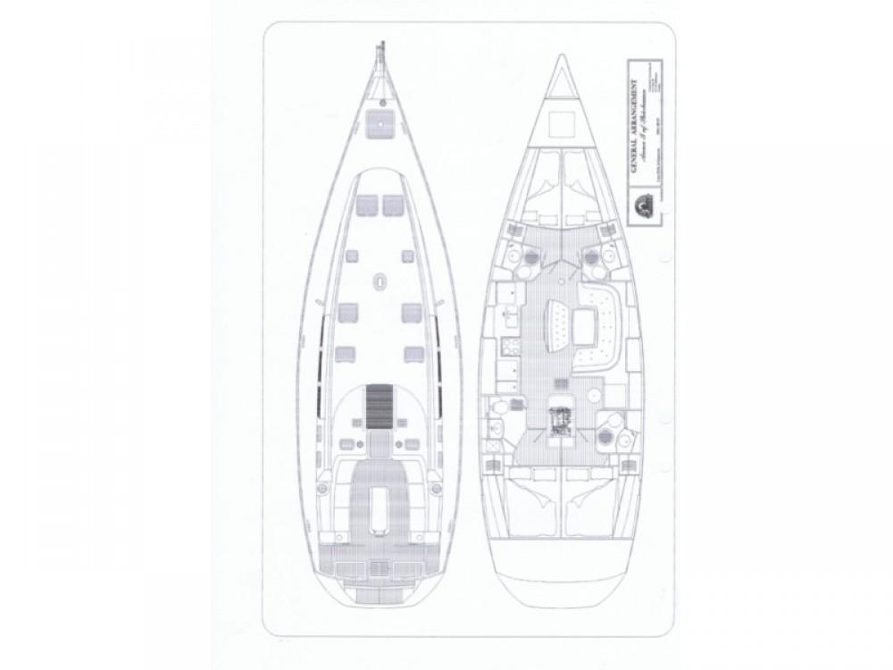 Verhuur Zeilboot in Marina Kaštela - Jeanneau Sun Odyssey 49