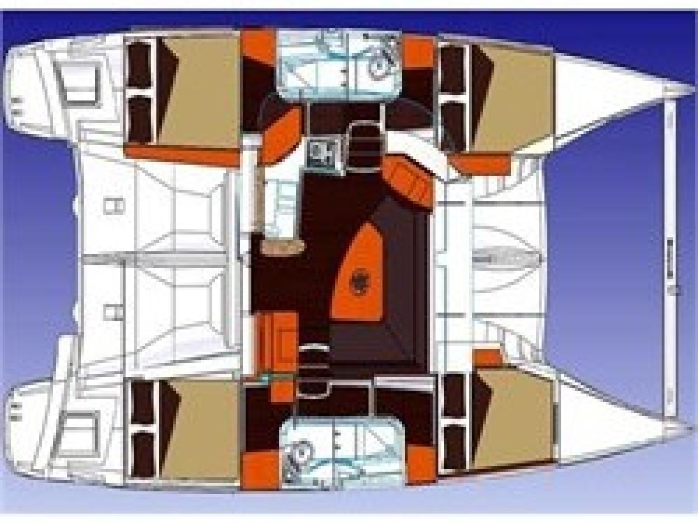 Verhuur Catamaran in Palma - Fountaine Pajot Lipari 41