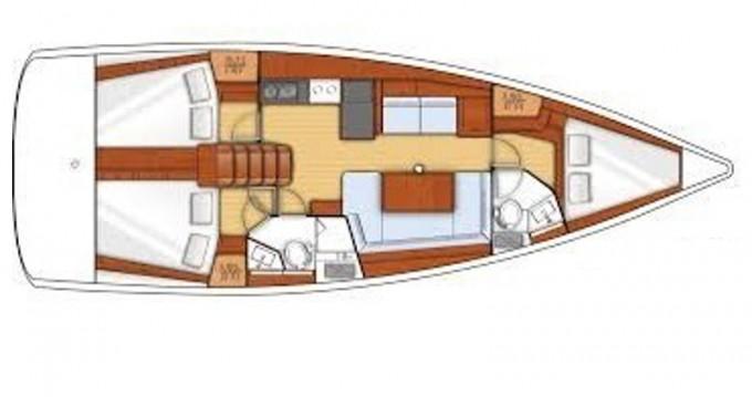 Verhuur Zeilboot in Palma de Mallorca - Bénéteau Oceanis 41
