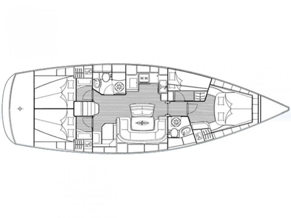 Jachthuur in Trogir - Bavaria Bavaria 46 Cruiser via SamBoat