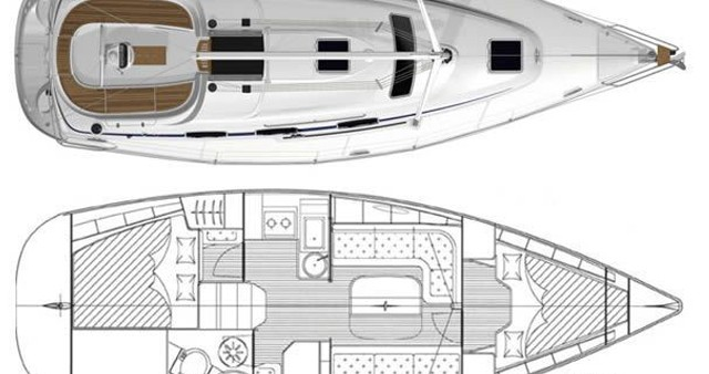 Bootverhuur Trogir goedkoop Bavaria 33 Cruiser