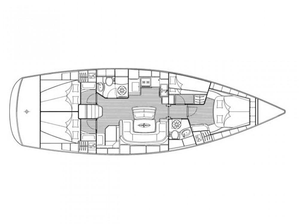 Bootverhuur Bavaria Bavaria 46 Cruiser in ACI Marina Trogir via SamBoat