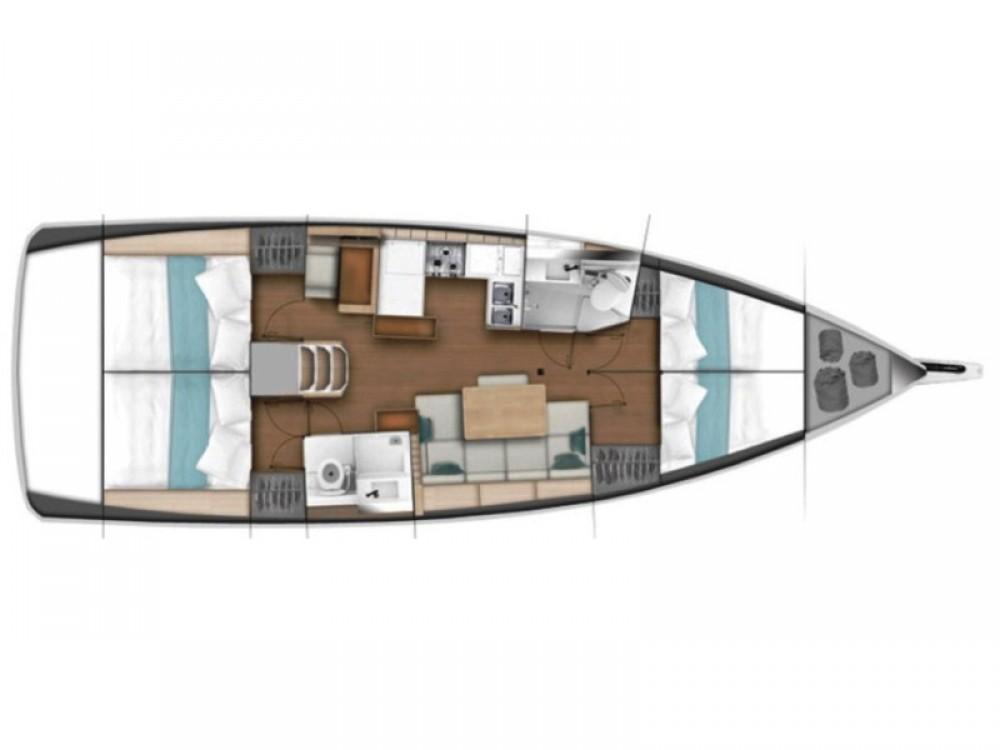 Huur Zeilboot met of zonder schipper Jeanneau in Volos