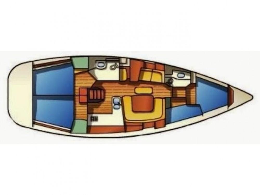 Huur Zeilboot met of zonder schipper Jeanneau in Κεραμωτή