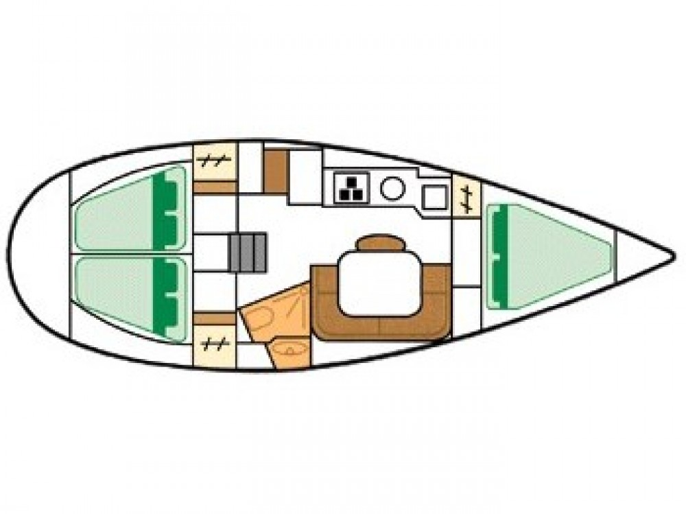 Jachthuur in Βόλος - Jeanneau Sun Odyssey 33 via SamBoat
