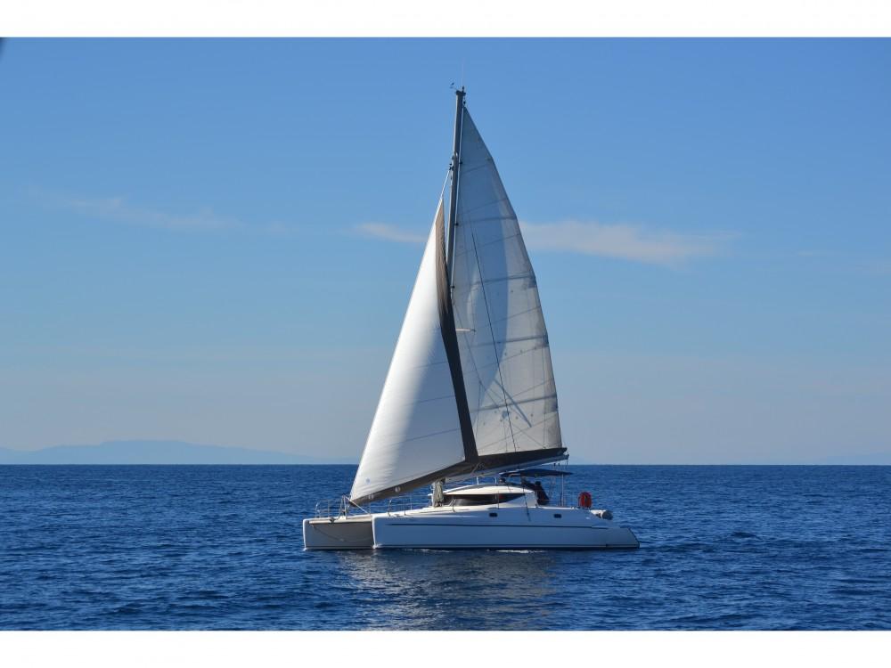 Huur Catamaran met of zonder schipper Fountaine Pajot in Βόλος