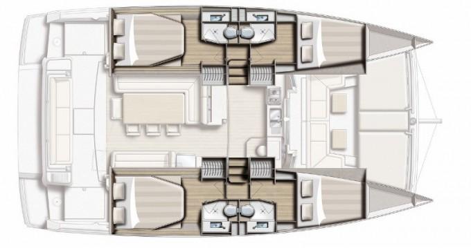 Bali Catamarans Bali 4.1 te huur van particulier of professional in Skiathos
