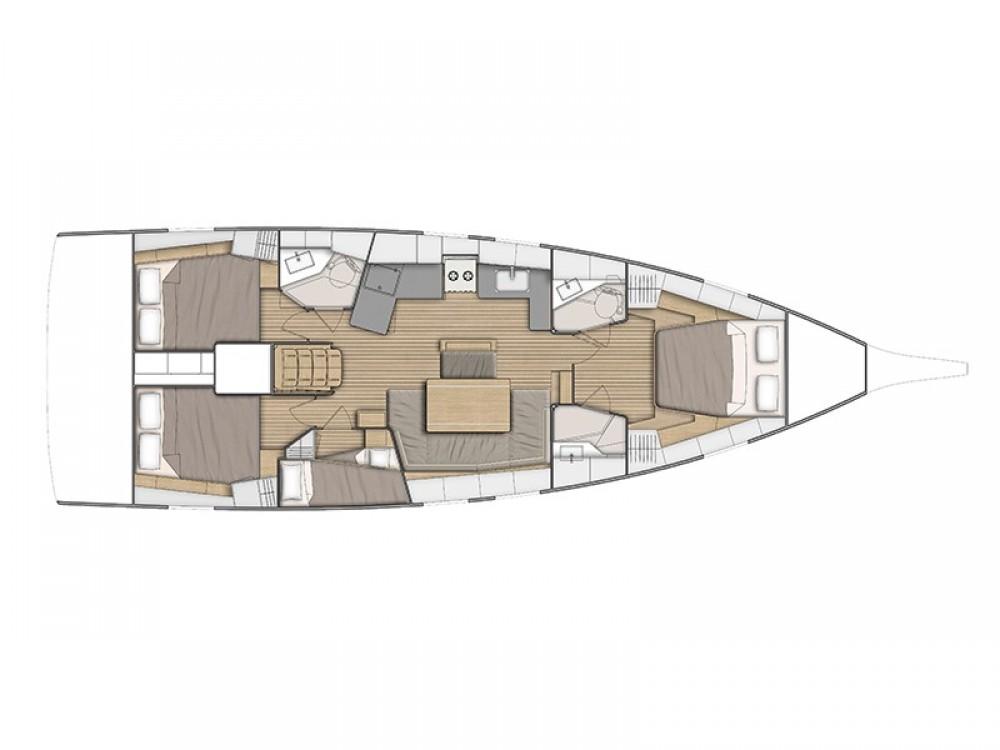 Verhuur Zeilboot in Ibiza Magna - Bénéteau Oceanis 461