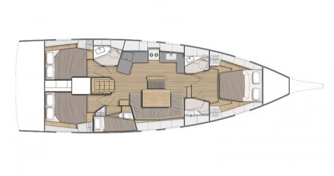Bootverhuur Ibiza Town goedkoop Oceanis 46.1