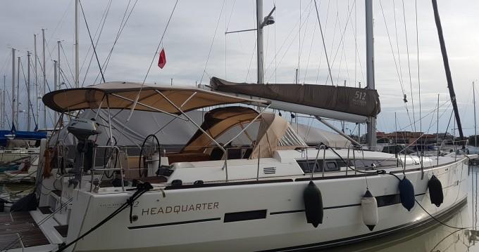 Bootverhuur Cagliari goedkoop Dufour 512 Grand Large
