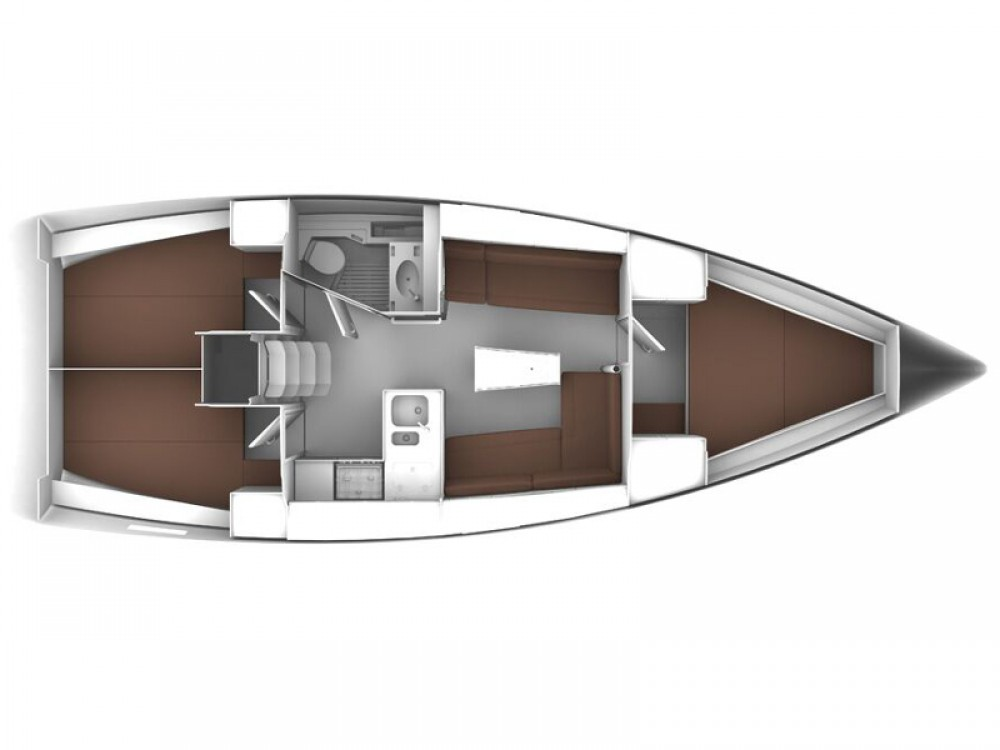 Bootverhuur Grad Zadar goedkoop Bavaria Cruiser 37