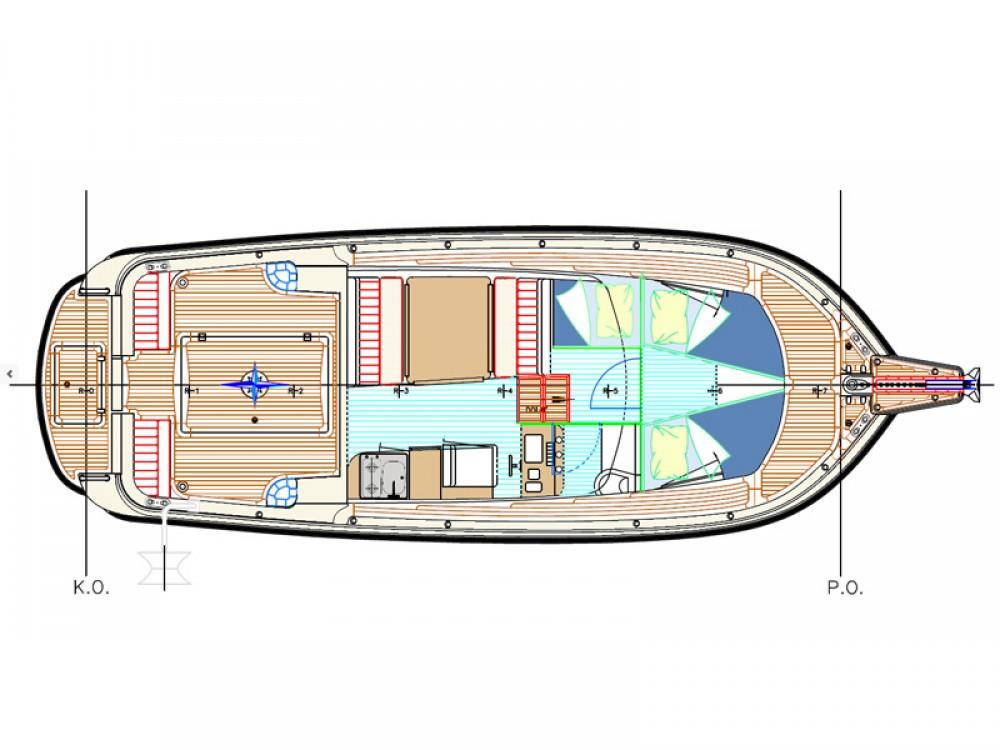 Verhuur Motorboot in  - Damor Damor 900 FURIA