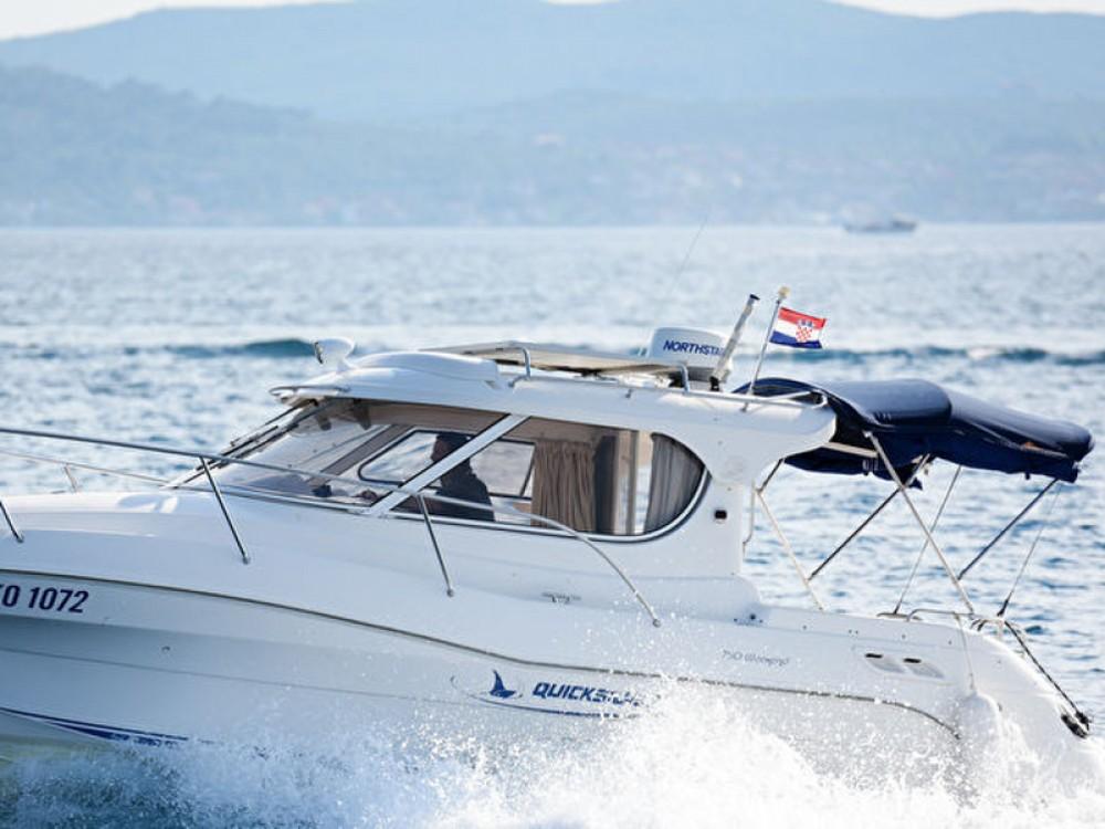 Verhuur Motorboot in Grad Zadar - Quicksilver Quicksilver 750
