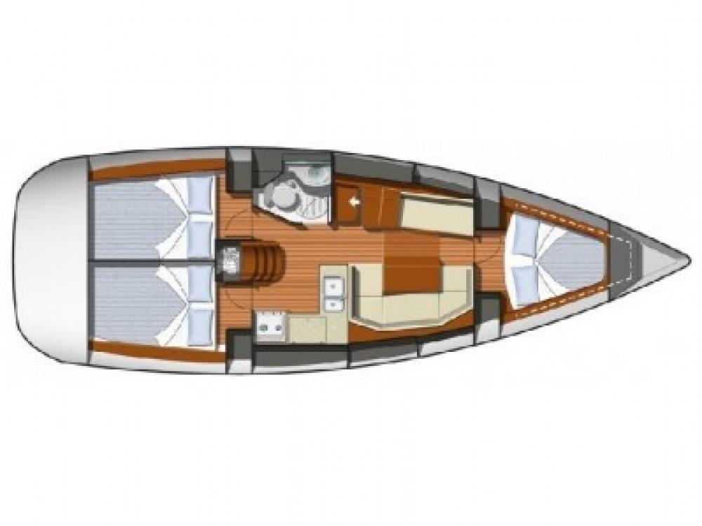 Verhuur Zeilboot in Sant Antoni de Portmany - Jeanneau JEANNEAU SO 36i