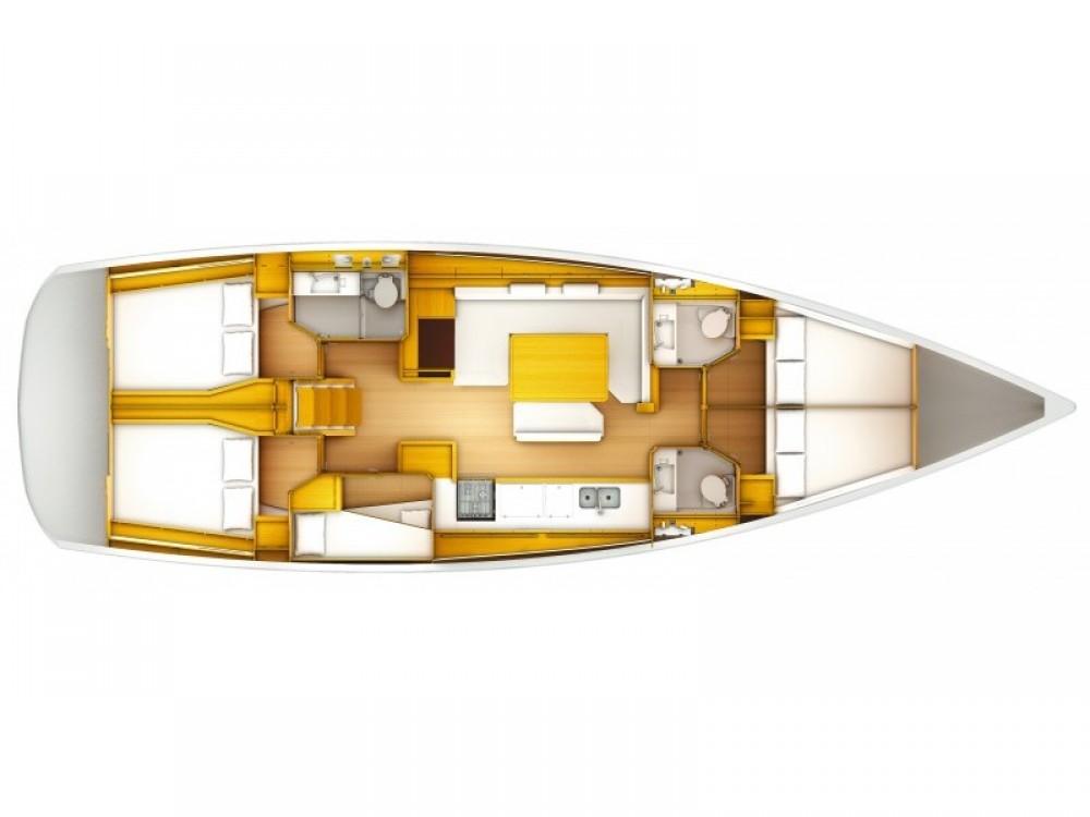 Verhuur Zeilboot in Sant Antoni de Portmany - Jeanneau JEANNEAU SO 509