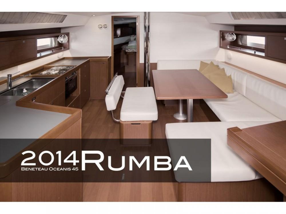 Bootverhuur Bénéteau Oceanis 45 (3 cabins) in Tivat via SamBoat