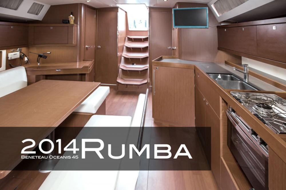 Bénéteau Oceanis 45 (3 cabins) te huur van particulier of professional in Tivat