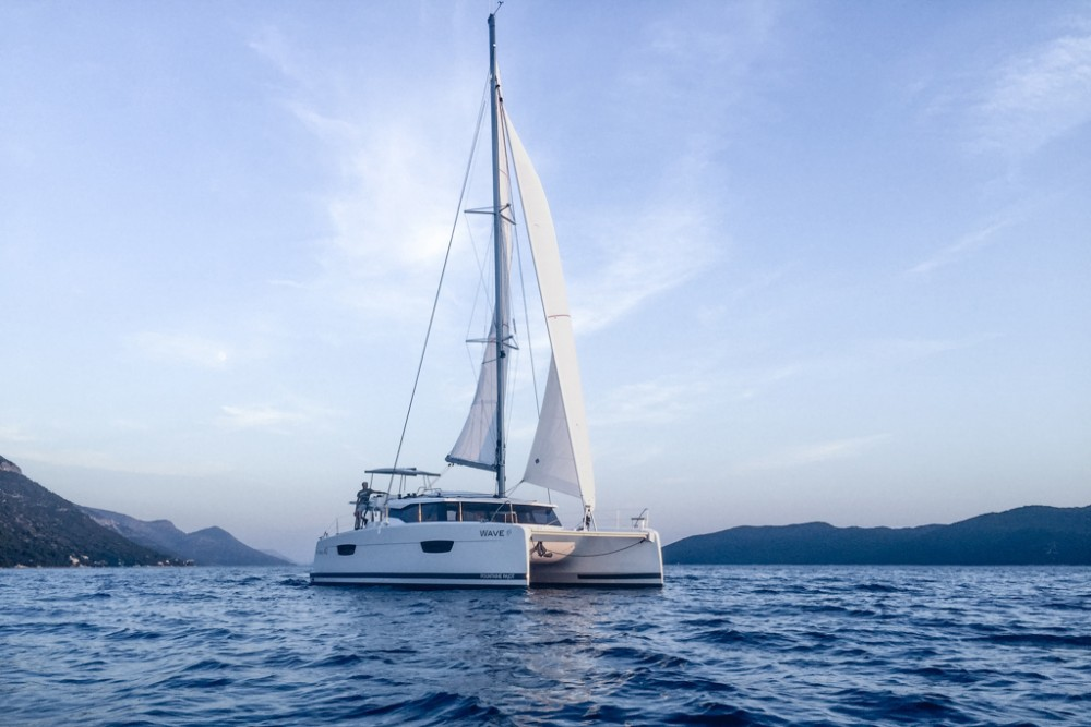 Fountaine Pajot Astrea 42 te huur van particulier of professional in Slano