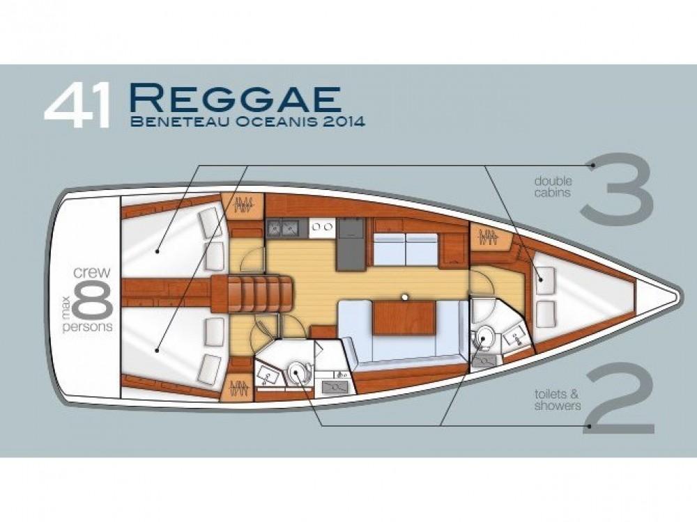 Verhuur Zeilboot in Tivat - Bénéteau Oceanis 41
