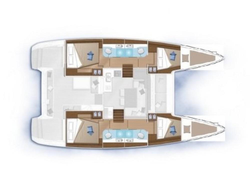 Lagoon Lagoon 40 te huur van particulier of professional in Split