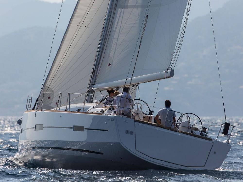 Bootverhuur Marina di Portisco goedkoop Dufour 460 Grand Large